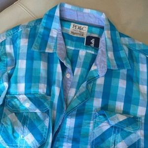 Other - Men's checkered shirt